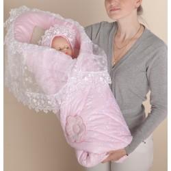 Одеяло-конверт меховой для новорожденного Селена - АРТ. - 71