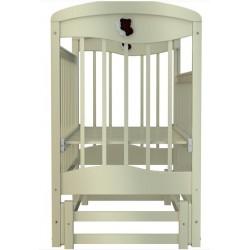 Детская кроватка для новорожденного Briciola-9 New (маятник продольный) 120x60 см