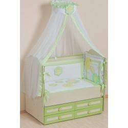 Комплект в кроватку, 7 предметов Селена «Цветные сны» АРТ. - 62