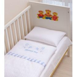 Комплект детского постельного белья 3 предмета Селена АРТ. - 07