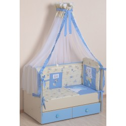 Комплект в кроватку 7 предметов Селена «Соня 0:1» АРТ. - 68
