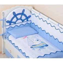 Комплект в детскую кроватку 3 предмета Селена «Морячок» АРТ. - 82.12