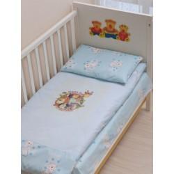 Комплект в детскую кроватку 3 предмета Селена АРТ. - 06.3