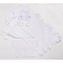 Комплект для новорожденного Селена 5 предметов АРТ. - 05