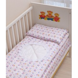 Комплект в детскую кроватку 3 предмета Селена АРТ. - 06