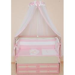 Комплект в кроватку 7 предметов Селена «Мой маленький друг»  АРТ. - 50.1