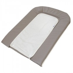 Пеленальный матрас Candide 45*71 см + белое махровое полотенце