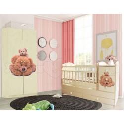 Детская комната для новорожденного Папа Карло 2 предмета: Мишкины сказки