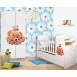 Детская комната Папа Карло 2 предмета: Мишутка и малыш