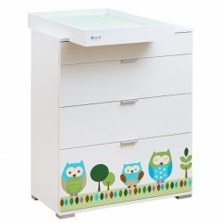 Пеленальный комод Giovanni Summer Owls (Shapito)