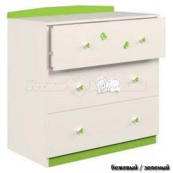 Детский пеленальный комод Polini Зайки 3190