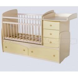"""Детская кроватка трансформер маятник """"Сафаня"""""""