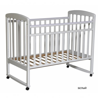 Детская кроватка Антел Алита 2 колесо-качалка