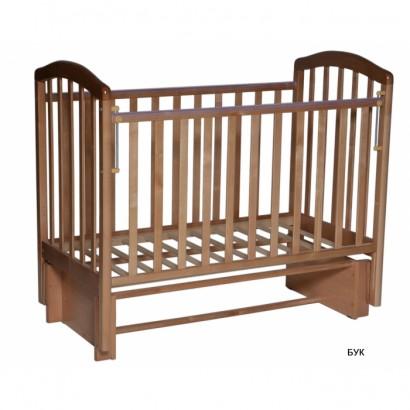 Детская кроватка Антел Алита 3/5 для новорожденного универсальный маятник