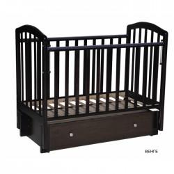 Детская кроватка Антел Алита 4/6 для новорожденного универсальный маятник+ящик