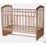 Детская кроватка для новорожденного Антел Алита 5  продольный маятник  без ящика