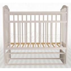 Детская кроватка Агат Золушка-5 продольный маятник без ящика