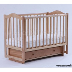 Детская кроватка Кубаньлесстрой (Лель) БИ 37.2 Кубаночка-1 (маятник поперечный)