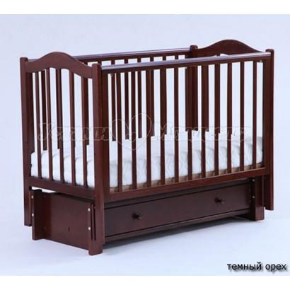 Детская кроватка Кубаньлесстрой (Лель) БИ 37.3 Кубаночка-1 (маятник продольный)