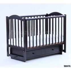 Детская кроватка Кубаньлесстрой (Лель) БИ 38.2 Кубаночка-2 (маятник поперечный)