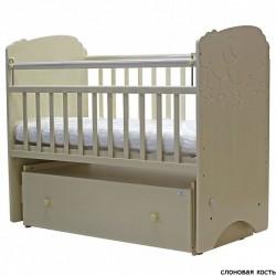 Кроватка для новорожденного поперечный маятник для новорождённого Топотушки Софья