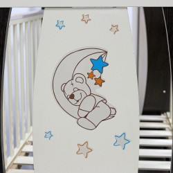 Детская кроватка для новорожденного поперечный маятник Топотушки Верона