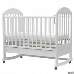Детская кроватка для новорожденного колёса качалка ящик Топотушки Дарина-4