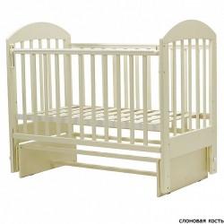 Детская кроватка для новорожденного поперечный маятник Топотушки Дарина-5