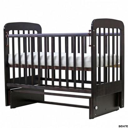 Детская кроватка для новорожденного поперечный маятник Топотушки Милана 5