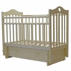 Детская кроватка для новорожденного универсальный маятник ящик Топотушки Лидия-7
