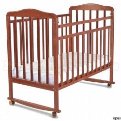 Детская кроватка СКВ Митенька New 16011 качалка+колёса