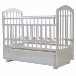 Детская кроватка для новорожденного универсальный маятник ящик Топотушки Лира-7