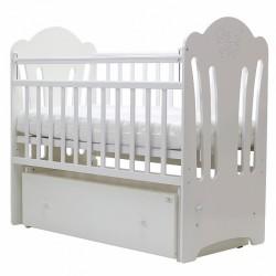 Детская кроватка для новорожденного поперечный маятник ящик Топотушки Ангелина