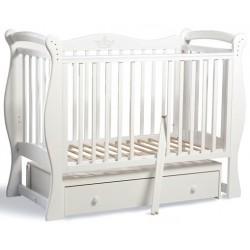 Детская кроватка для новорожденного Baby Luce Лучик поперечный маятник