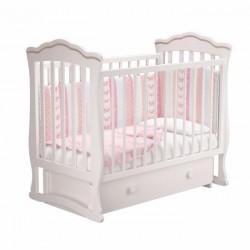 Детская кроватка для новорожденного Милано Вэлла-3 Можгинский лесокомбинат универсальный маятник с ящиком