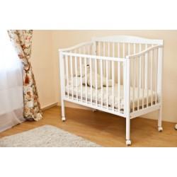 Детская кроватка для новорожденного Можга (Красная звезда)  на колесах Фантазия С 511