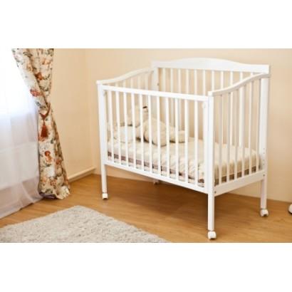 Детская кроватка для новорожденного на колесах Можга Красная звезда Фантазия С 511