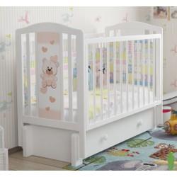 Детская кроватка для новорожденного Милано Тедди-3 Можгинский лесокомбинат универсальный маятник с ящиком