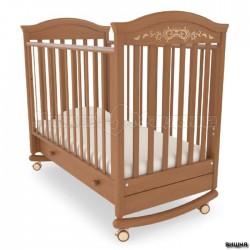Кроватка для новорожденного Гандылян Даниэль Люкс (качалка + колёса + ящик)