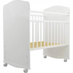 Детская кроватка Агат Золушка-8 колёса + качалка