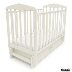 Кроватка для новорожденного СКВ Берёзка New 12600* универсальный маятник + закрытый ящик