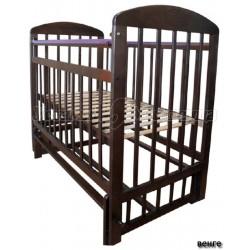 Детская кроватка для новорожденного поперечный маятник Мой малыш 09