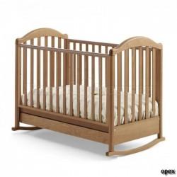Кроватка для новорожденного Baby Italia Euro (колёса + качалка + ящик)