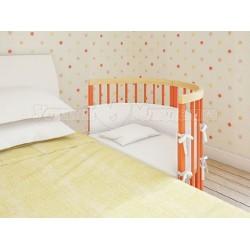 Круглая (овальная) кроватка трансформер Giovanni By Shapito TreeO