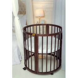 Детская круглая кроватка для новорожденного ComfortBaby SmartGrow 7 в 1