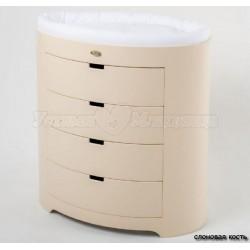 Овальный пеленальный комод ComfortBaby