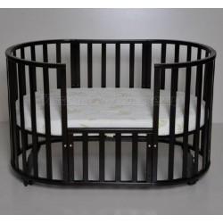 Круглая кроватка трансформер Incanto Gio Deluxe 8в1