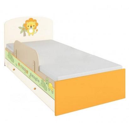 Детская подростковая кроватка Polini Basic Джунгли