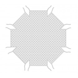Матрасик в манеж Combelle Florian восьмиугольный