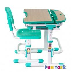 Парта трансформер с ортопедическим стулом FunDesk Sorriso